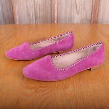 Lands' End Pink Ballet Flats Women's 7.5B US 38 EU