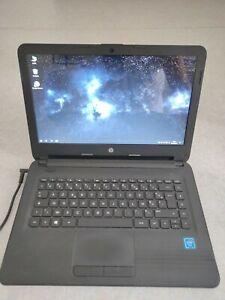 Pc portable HP 14 pouces - Windows 10 à jour, avec alimentation et pochette