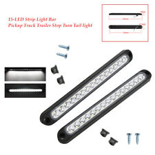 2PC 15-LED Strip Light Bar signal lamp Pickup Truck Trailer Stop Turn Tail strip
