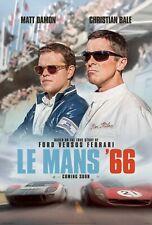 LE MANS '66 FORD V FERRARI MOVIE POSTER FILM A4 A3 A2 A1 PRINT CINEMA