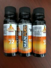 MANFUEL (3 BOTTLES) MALE ENHANCEMENT SHOOTER 3 FL.OZ  Mango Pineapple