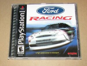 Ford Racing for Playstation PS1 Complete Fast Shipping!