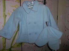 """FIRST IMPRESSIONS"" (Macys) Baby Fleece Jacket & Hat, Size 6-9mos. BRAND NEW"