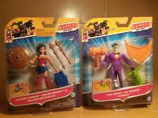"""Justice League Action Wonder Woman & The Joker Action Figure Dc Comics 4"""""""