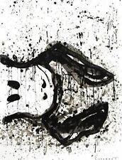 Tom Everhart Watchdog 3 O'Clock Hand Signed Fine Art Lithograph COA S2