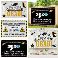 Graduation Backdrop Banner Grad Sign Photo Booth Prop Wall Banner Party Flag