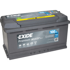 Exide Premium Carbon Boost EA1000 100Ah Autobatterie