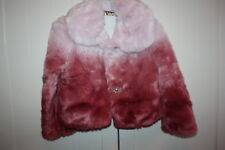 Monnalisa Jacke flauschig  rosa/pink traumhaft schön 104   angebot