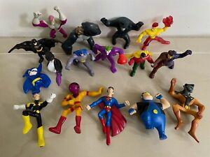McDonalds Happy Meal Lot of Batman Superman DC Comics Figures Huge Lot of 16