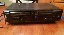 Sony Mxd-D3 Cd MiniDisc Converter Recorder Compact Mini Disc Player Japan Made