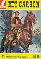 Kit Carson Nr.8 von 1966 - TOP Z1 ORIGINAL LEHNING WESTERN COMICHEFT