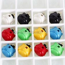 12x New Original Genuine Sanwa OBSF 30mm Push Buttons Arcade Joystick Kits Parts