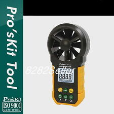 ProsKit MT-4615 Anemometer Tester ventilation,sailing,flight energy,industry NEW