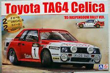 1985 Toyota Celica TA 64 Haspengouw Rallye 1:24 Aoshima Beemax 106075 # 22