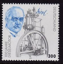 Germany 1997 Diesel Engine Invention SG 2809 MNH