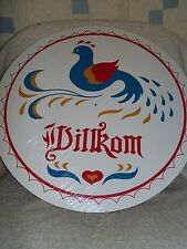 """CONESTOGA CRAFTS PA Dutch  Hex Sign, 8"""" Wilkom"""
