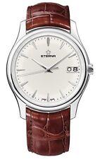 New Eterna Men's 7630.41.61.1185 Vaughan Stainless steel Big Date Watch