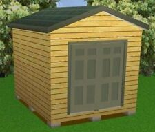 10x12 Storage Shed Plans Package, Blueprints, Material List & Instructions