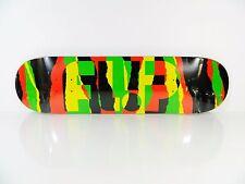Flip Odyssey Torn 8.13 Rasta Skateboard Deck w/ Free Grip Tape