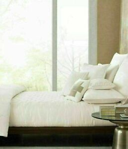 Hotel Collection Verve California King Quilted Coverlet Ivory $375