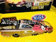 NHRA Scotty Cannon 1:16 Milestone DIECAST Oakley NITRO Funny IDEA Car DRAG Rare
