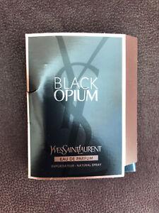 """BN """" YSL """" BLACK OPIUM, EAU DE PARFUM, 1.2 ML - SAMPLE SIZE !!"""