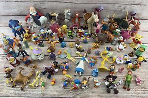 Huge Disney PVC Figure Lot Bullyland Characters Mix Toy Mickey Pooh Peter Vtg