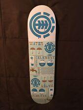 Rare Vintage ELEMENT SKATEBOARDS Deck (2004) Size 7.75 ~ Bam Margera Era!