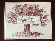 NEW Our Family Tree Record Book