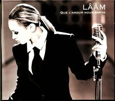 LAAM - QUE L'AMOUR NOUS GARDE - CD SINGLE DIGIPACK