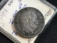 1876-B PRUSSIA 2 MARKS KM 506.2