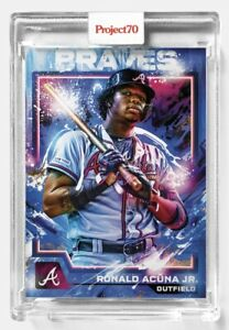 Topps Project 70 Card 587 -  Ronald Acuna Jr. by Mikael B - Presale