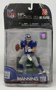 McFarlane NFL Eli Manning New York Giants Series 20 - 2009 - NIP