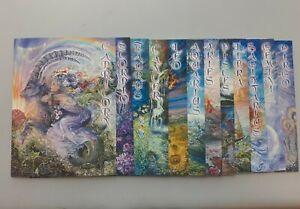 1 each of 12 Zodiac Cards ~ Josephine Wall