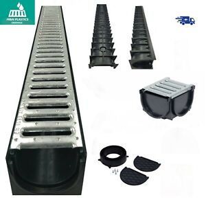 Drainage Channel (Patio & Drive way) 1mtr HEAVY DUTY Drain (1.5t-2t) GALVANISED