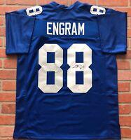Evan Engram autographed signed jersey NFL New York Giants JSA COA Mississippi
