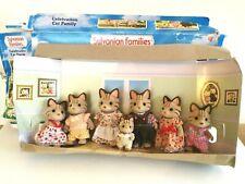 Sylvanian Families Vintage FLAIR Celebration Macavity Cat Family Boxed