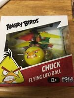 World Tech Toys Rovio Angry Birds Movie Chuck Bird Flying UFO Ball Helicopter