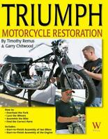 Triumph Motorcycle Restoration Book ~start-to-finish 1963 & 1969 Bonneville~NEW!