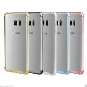 LOT 5 SAMSUNG GALAXY NOTE 20 S20 Plus acrylic Shockproof Clear Protection Case