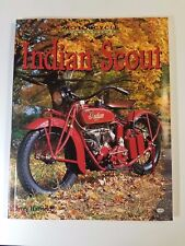 INDIAN SCOUT HISTORY MOTORCYCLE JERRY HATFIELD MANUAL RESTORE NEW BOOK 1ST CHIEF