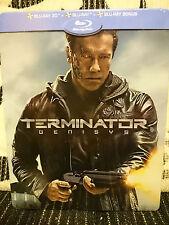 Terminator: Genisys - Auchan Exclusive Edition Steelbook Blu-ray 3D + 2D + Bonus