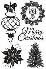 Kaisercraft Christmas Wishes Stamp Set, Stamping, Craft, Cards, Scrapbook