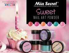 Mia Secret ACRYLIC POWDER SWEET COLLECTION 6Pcs Nail art - Authentic Brand *