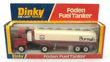 Vintage Dinky Toys 950 Foden S20 Fuel Tanker 'Burmah' 1978-79 *NMIB*