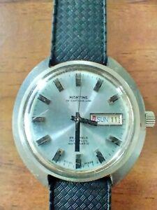 Montine Of Switzerland 25 Jewel Incabloc Automatic Watch