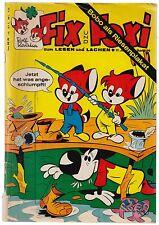 Fix und Foxi 17. Jahrgang Heft 36 Mit Riesenplakat Bobo