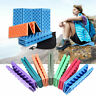 Foldable Camping Foam Seat Cushion Sitting Mat Hiking Beach Picnic Pad with Bag
