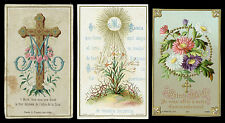 lotto santini-holy cards lot-lot images pieuses-konvolut heiligenbildichen 2530