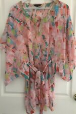 Caftan Summer Dress Portmans  Batwing Over Bathers Size XS/S 12/14